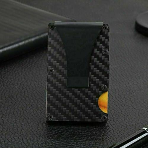 Metal Minimalist Card Holder Clip
