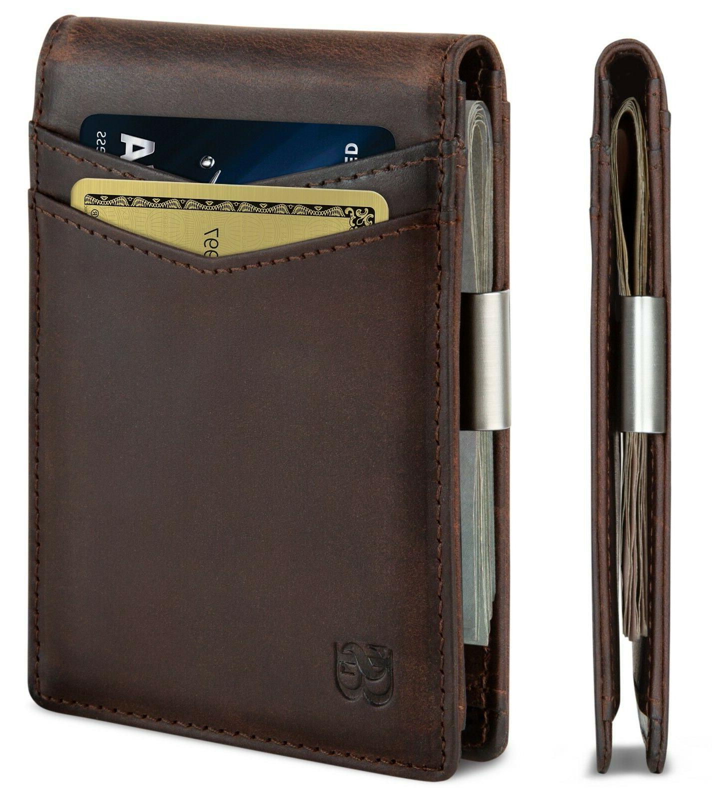 money clip wallet mens wallets slim front
