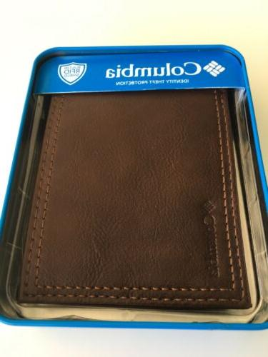 New Men's All Leather Wallet