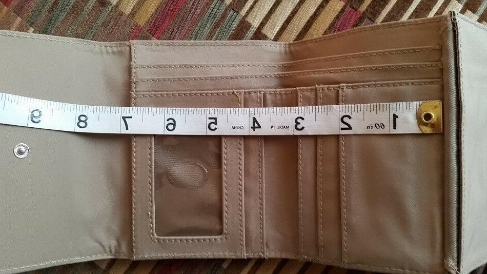 NWT Pebbled Women's Wallet