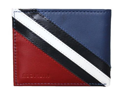 passcase valet bifold wallet red