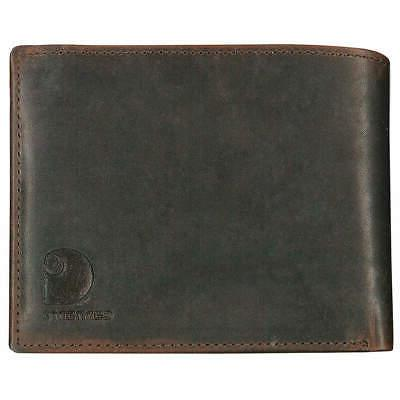 passcase wallet leather 4 3 8 in
