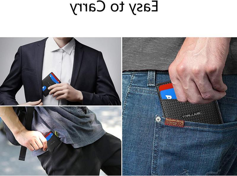 Slim Wallet Front Money Clip Minimal Wallet For Men 10