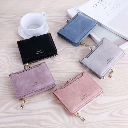 Small Zipper Wallet Fashion Lady Solid Bag