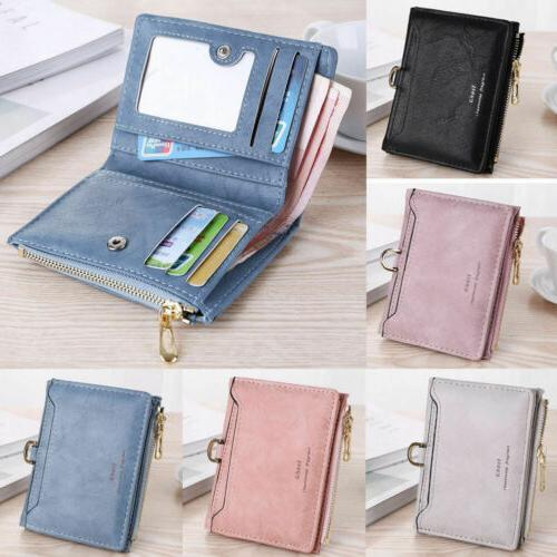 Small Women RFID Wallet Coin Pocket Clutch Bag