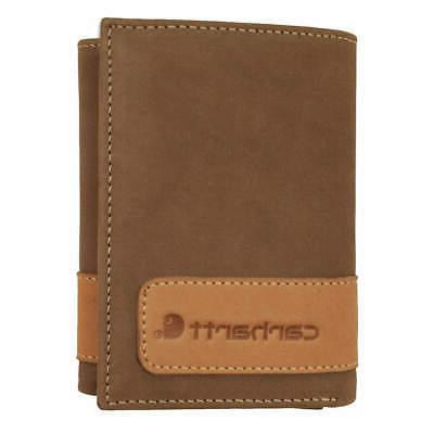 tri fold wallet leather 3 1 4