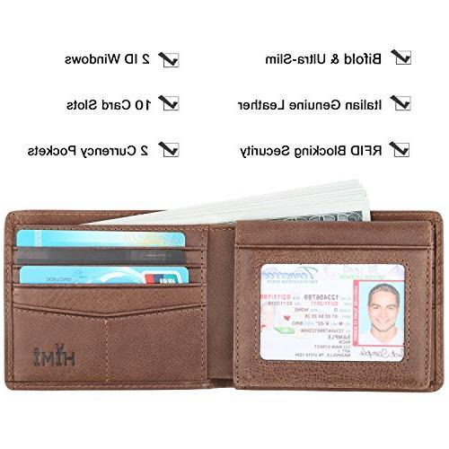 RFID Blocking Wallet Window