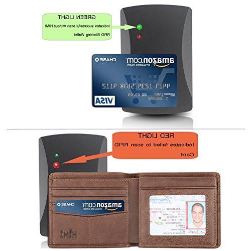 Wallet RFID Bifold Wallet Window