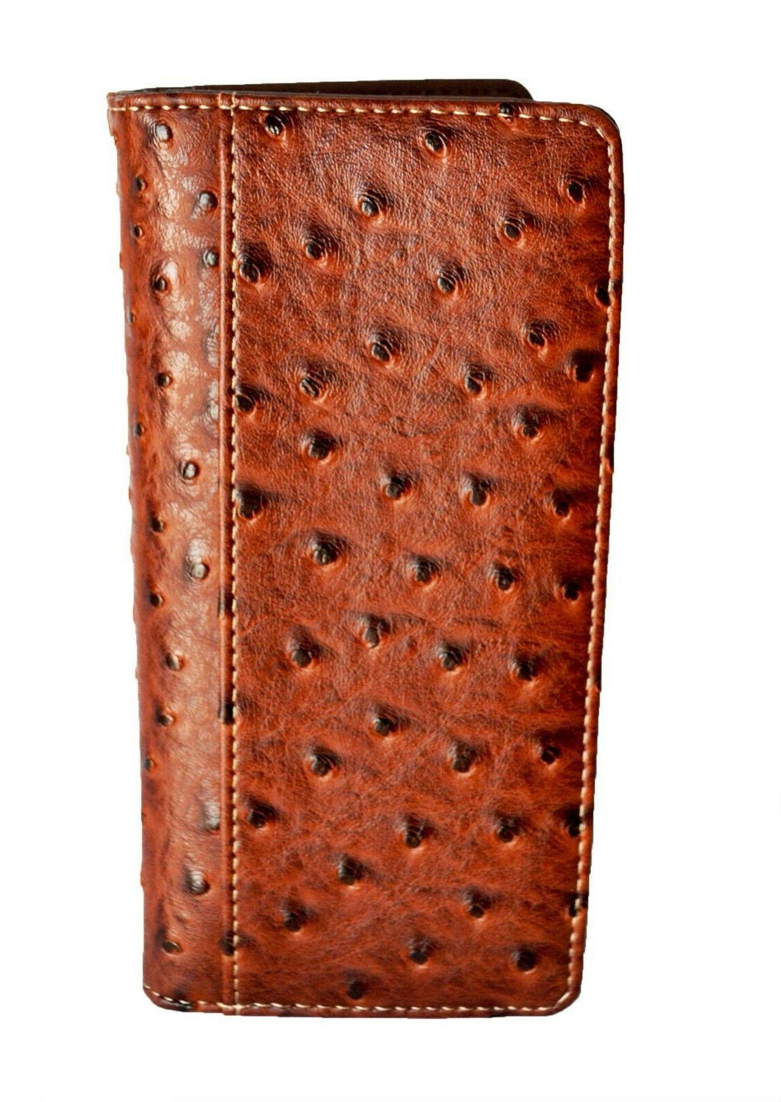Western wallets for Horse Long Bi-fold Brown