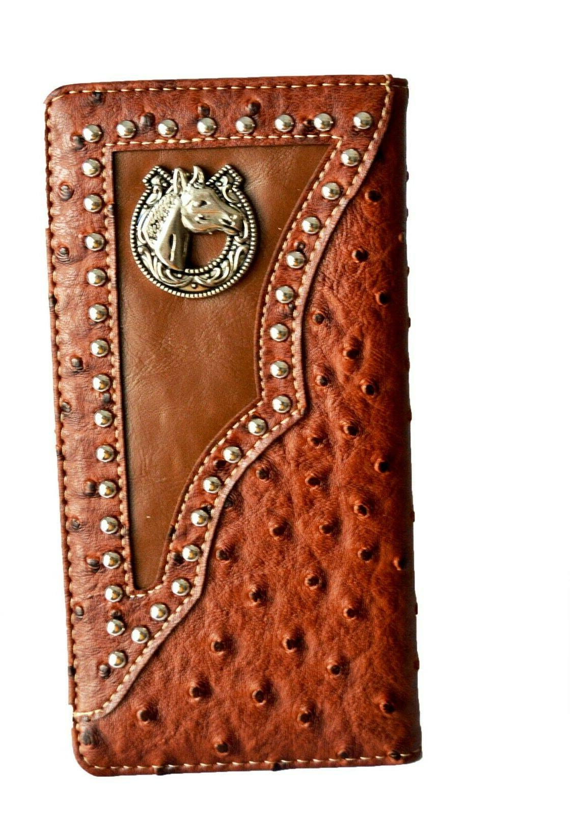 western wallets for mens horse texas state