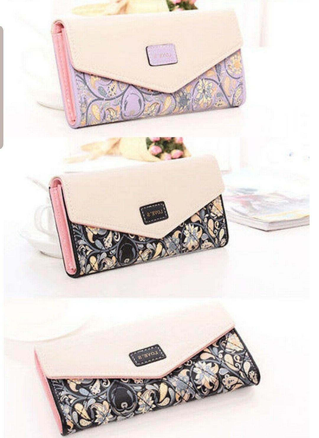 Fashion Envelope Clutch Card Holder Purse Bag
