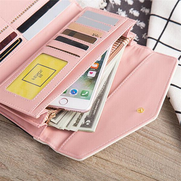 Fashion Clutch Wallet Holder