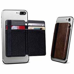 Bellagio Italia Leather Folding Phone Wallet for Credit Card