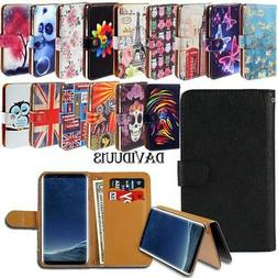 Leather Smart Stand Wallet Case Cover For Samsung Galaxy On5