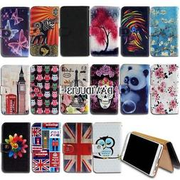 Leather Smart Stand Wallet Case Cover For Various NUU Mobile
