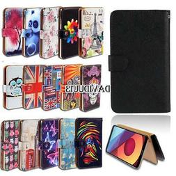 Leather Smart Stand Wallet Case Cover For Various LG SmartPh