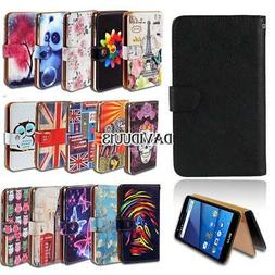 Leather Smart Stand Wallet Case Cover For Various BLU Vivo S