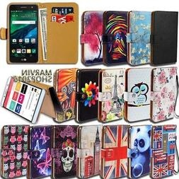 Leather Wallet Card Stand Flip Case Cover For Various LG G3