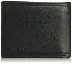 Levi's  Men's  RFID Security Blocking Traveler Wallet,Black