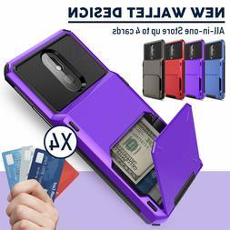 For LG K51/Stylo 6/5+ Plus Phone Case Hybrid Card Wallet Hol