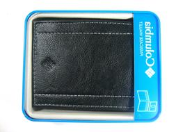 Columbia Men's Bifold Leather Wallet Black 31CP2204