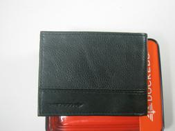 Dockers Men's Bifold Wallet 31DP220010 Black New