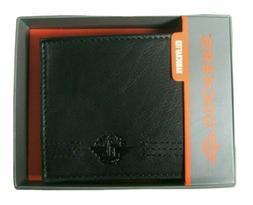 Dockers Men's Bifold Wallet 31DP220Z01 Black Handcrafted New