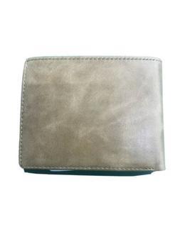 Men's Bifold Wallet Leather, Stylish RFID Blocking ID Card S