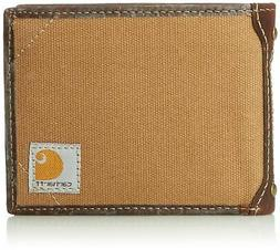 Carhartt Men's Billfold Wallet One Size Duck Brown