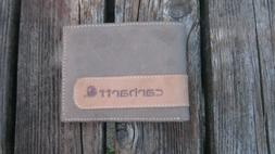 Carhartt Men's Billfold Wallet One Size Two-tone Brown