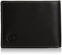 Timberland Men's Blix Slimfold Wallet, Black, One Size