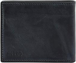 Fossil Men's Derrick RFID-Blocking Flip ID Bifold Wallet, ML