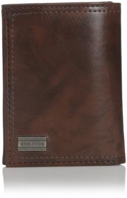 Dockers  Men's  Extra Capacity Trifold Wallet,Monroe Brown