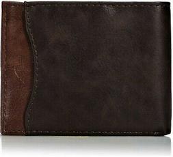 Dockers  Men's  Front Pocket Wallet,Brown