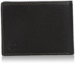 Timberland Men's Genuine Leather RFID Blocking Passcase Secu