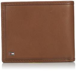 Tommy Hilfiger  Men's  Leather Passcase Wallet,Sand