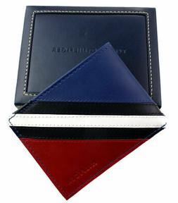 Tommy Hilfiger Men's Leather Wallet 31TL22X051 Billfold Red