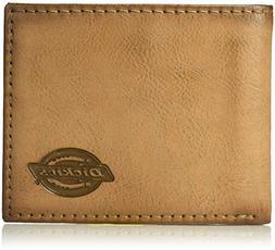 Dickies Men's RFID Extra Capacity Slimfold Wallet, Brown, On