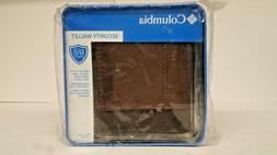 Columbia  Men's  RFID Security Blocking Traveler Wallet,Foxf