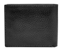Fossil Men's Richard Rfid Flip Id Bifold Leather Wallet