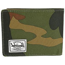 Herschel Supply Co Men's Roy Bi-Fold Fabric Wallet