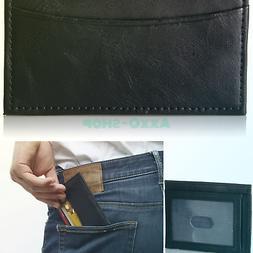 Amazon Essentials Men's Slim RFID Blocking Card Case Minimal