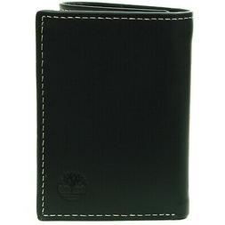 Timberland Men's Trifold Wallet Soft Genuine Leather Slim Bi