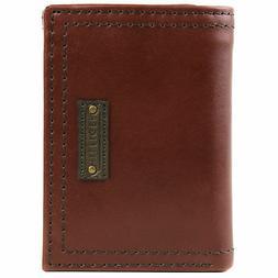 men s trifold zipper coin credit card