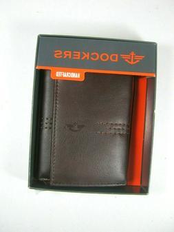 Dockers Men's Wallet Trifold 31DP110Z02 Brown Handcrafted