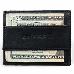 Alpine Swiss Mens Minimalist Front Pocket Wallet Card Case C