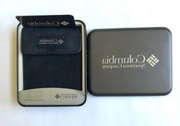 COLUMBIA Men's Slim Fold Wallet, Velcro Closure, New in Bo
