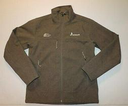 MENS SMALL THE NORTH FACE WINDWALL APEX BROWN HEATHER JACKET