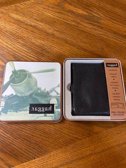 Men's wallet Haggar/new in tin