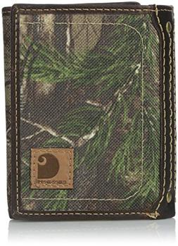 Mens Wallet Carhartt Realtree Trifold One Size Other Fibers